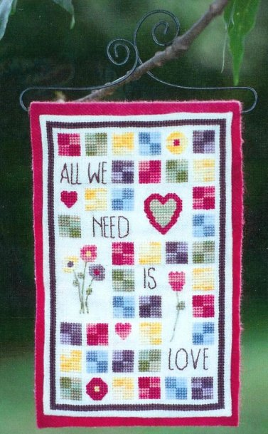 Clearance Myrtle Grace Motifs All We Need Is Love
