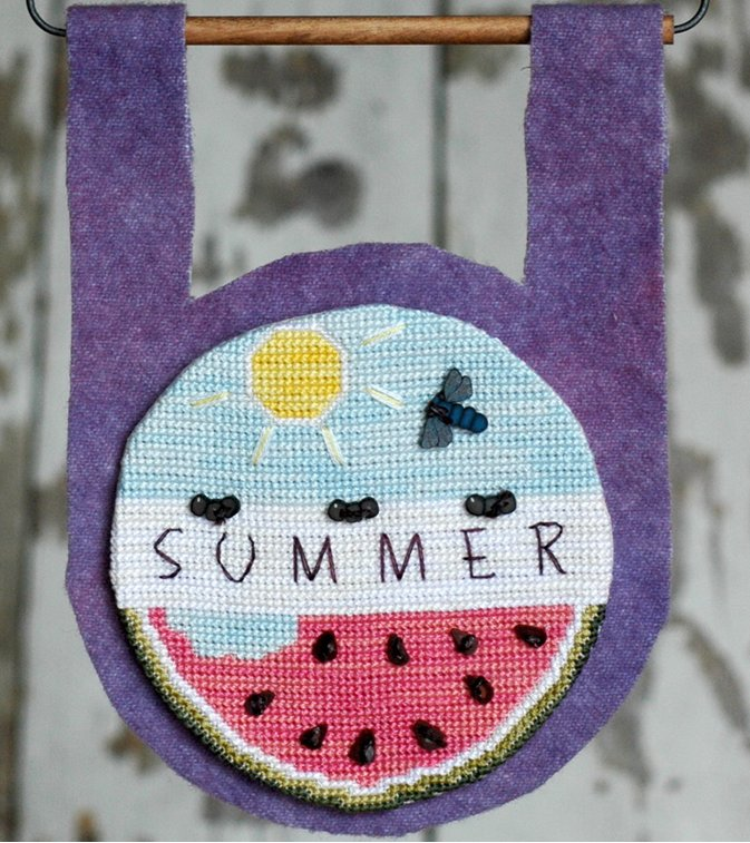 Clearance Myrtle Grace Motifs  Buttoned Up For Summer
