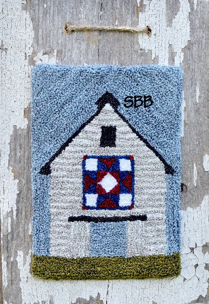 Clearance Myrtle Grace Motifs Heritage Barn Quilt Punchneedle