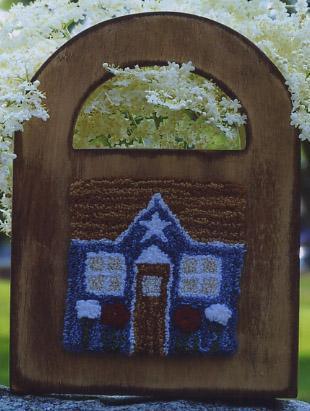 Clearance Myrtle Grace Motifs Little House On The Box Punchneedle