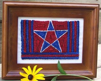 Clearance Myrtle Grace Motifs Oh My Star! Punchneedle