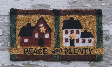Clearance Myrtle Grace Motifs Peace & Plenty Punchneedle