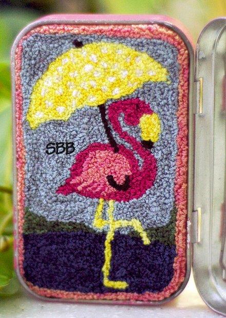 Clearance Myrtle Grace Motifs Pretty In Pink Punchneedle