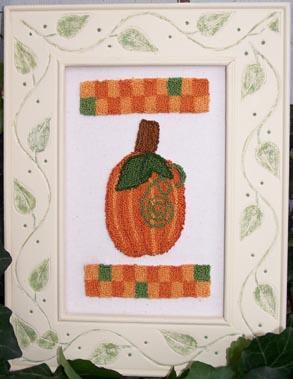 Clearance Myrtle Grace Motifs Pumpkin Patch Punchneedle