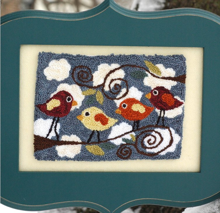 Clearance Myrtle Grace Motifs  Singing To The Choir Punchneedle