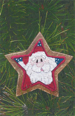 Clearance Myrtle Grace Motifs Super Star Santa