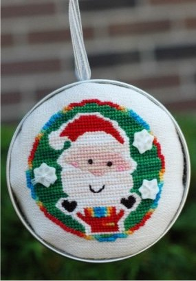 Clearance Myrtle Grace Motifs Tree Trimmers - Santa