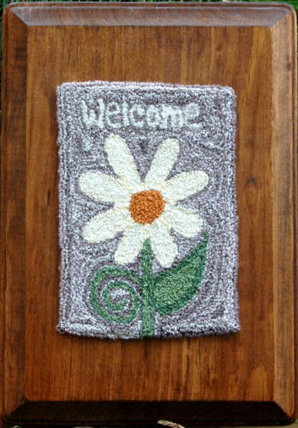 Clearance Myrtle Grace Motifs Welcome Spring Punchneedle