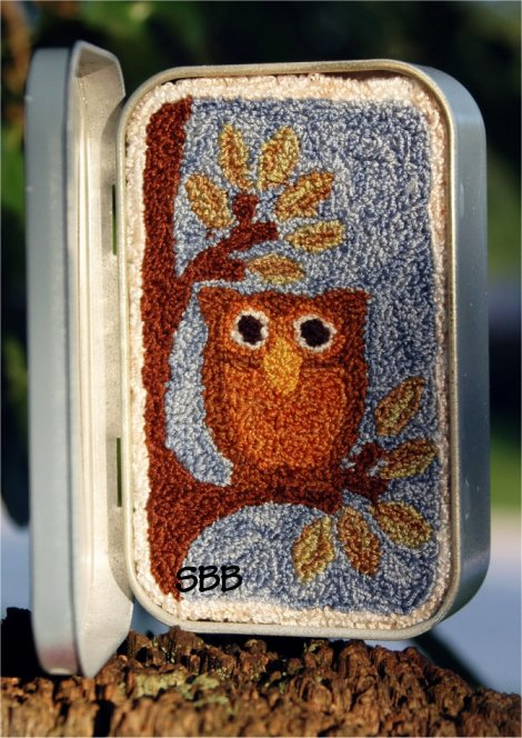 Clearance Myrtle Grace Motifs You're A Hoot Punchneedle