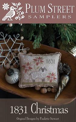 Clearance Plum Street Samplers 1831 Christmas