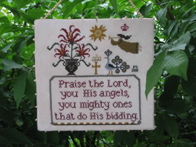 Clearance Plum Street Samplers Angel's Praise