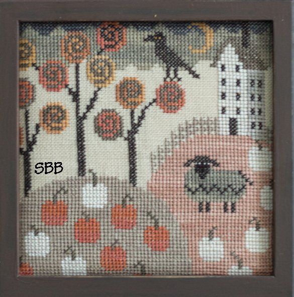 Clearance Plum Street Samplers Autumn Ewe