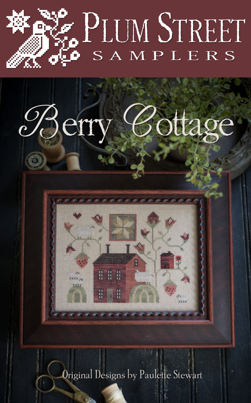 Clearance Plum Street Samplers Berry Cottage