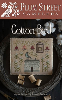 Clearance Plum Street Samplers Cotton Bird
