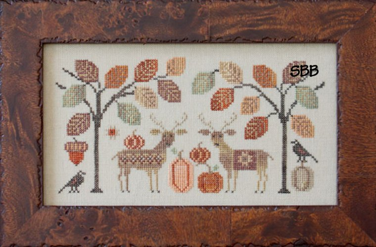 Clearance Plum Street Samplers Deer Friends