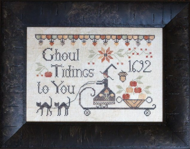 Clearance Plum Street Samplers Ghoul Tidings