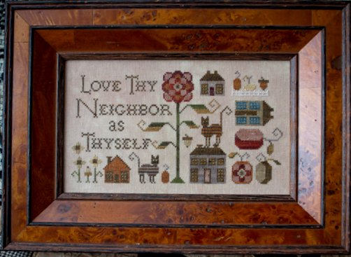 Clearance Plum Street Samplers Love Thy Neighbor