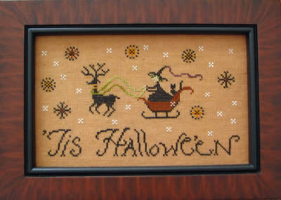 Clearance Plum Street Samplers Tis Halloween