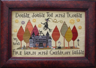 Clearance Plum Street Samplers Toil & Trouble