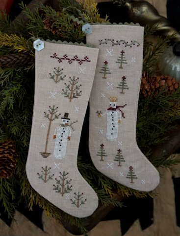 Clearance Plum Street Samplers Wintertide Friends