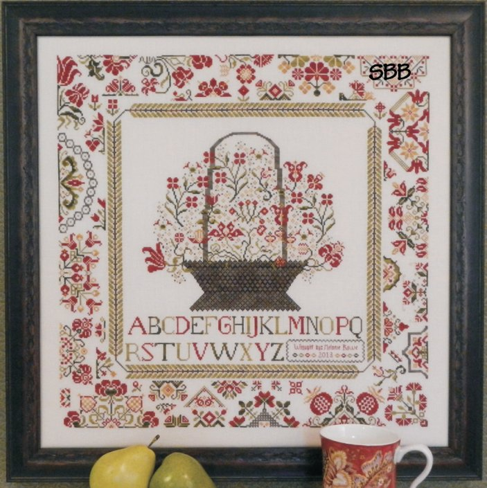Clearance Rosewood Manor Designs Cornwall Cottage Sampler