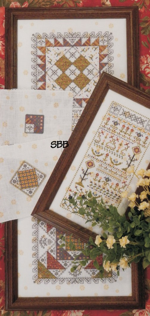 Clearance Rosewood Manor Designs Mystery Sampler Spring Has Come Part One