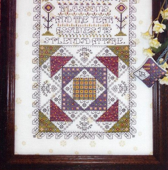 Clearance Rosewood Manor Designs Mystery Sampler Spring Has Come Part Three