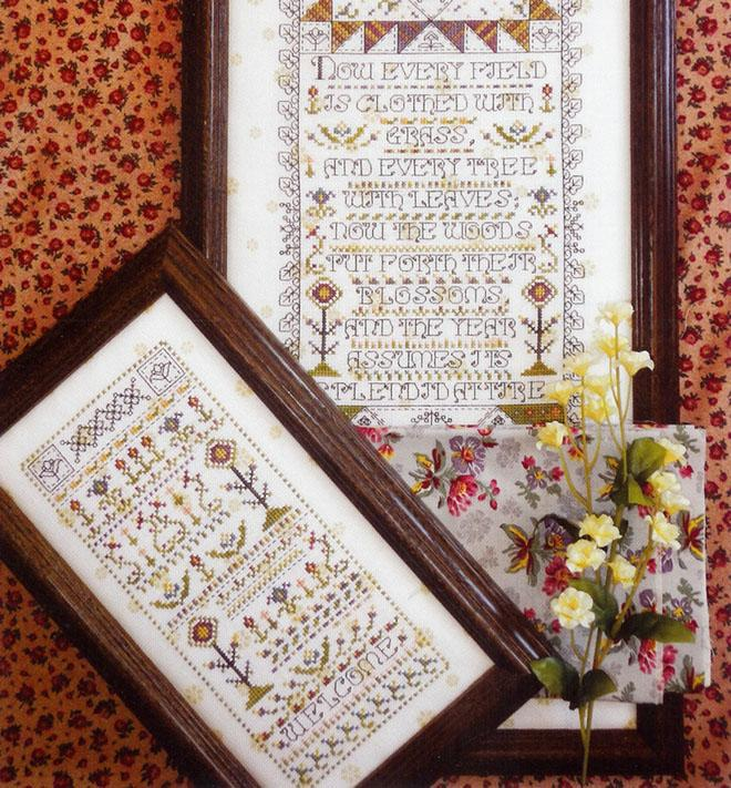Clearance Rosewood Manor Designs Mystery Sampler Spring Has Come Part Two
