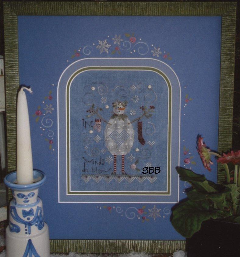 Clearance Shepherd's Bush Kits Blue Snowman