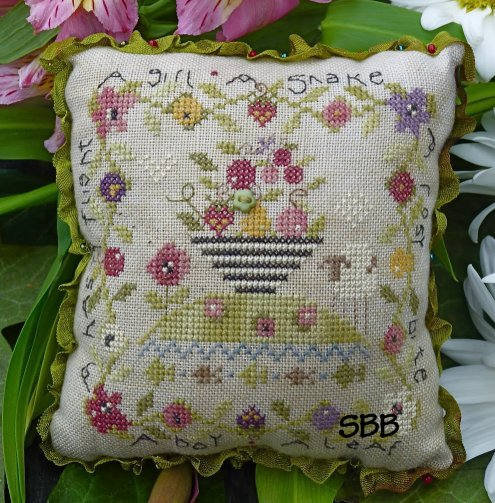 Clearance Shepherd's Bush Kits Eden's Lament Pin Cushion