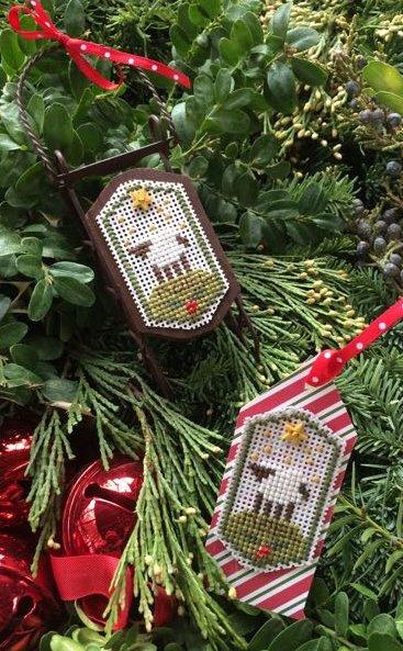 Clearance Shepherd's Bush Kits Noel Sheep Tag/Sled