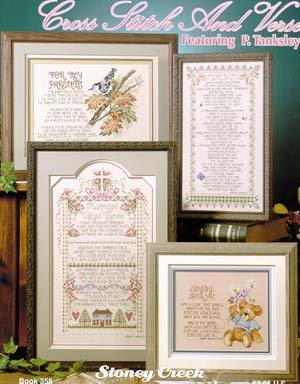 Clearance Stoney Creek Cross Stitch And Verse