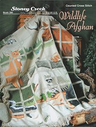 Clearance Stoney Creek Wildlife Afghan