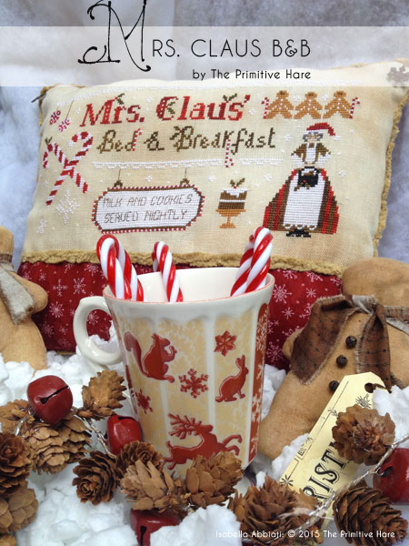 Clearance The Primitive Hare Mrs. Claus B & B