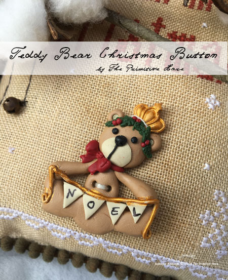 Clearance The Primitive Hare  ~ Noel Teddy Bear