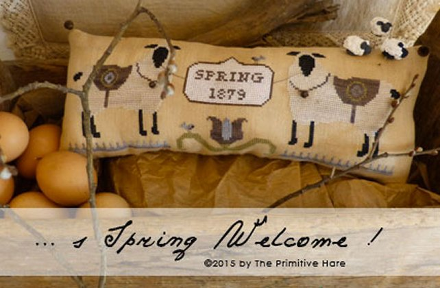 Clearance The Primitive Hare Spring Welcome