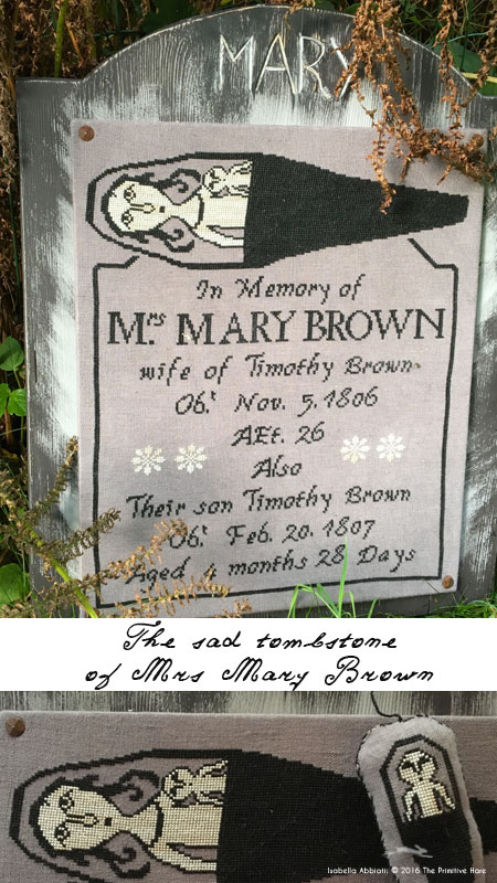 Clearance The Primitive Hare The Sad Thombstone Of Mrs. Mary Brown