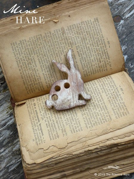 Clearance The Primitive Hare ~ Thread Keepers ~ Mini Hare
