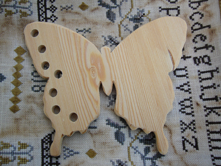 Clearance The Primitive Hare ~ Thread Keepers ~ Natural Butterfly