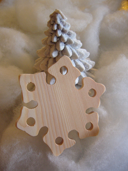 Clearance The Primitive Hare ~ Thread Keepers ~ Snowflake