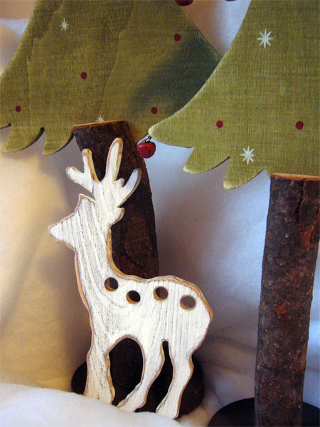 Clearance The Primitive Hare ~ Thread Keepers ~ Winter Deer