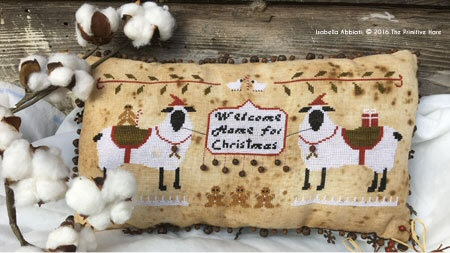 Clearance The Primitive Hare Welcome Home For Christmas