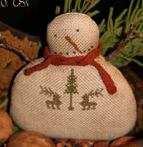 Clearance With Thy Needle CTS005 Woodland Frosty