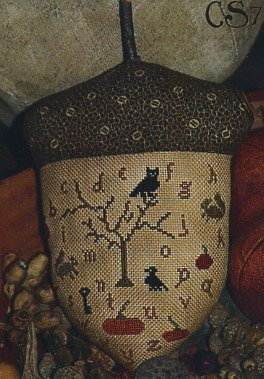 Clearance With Thy Needle CTS007 Gathering Acorns