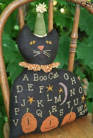 Clearance With Thy Needle CTS009 Black Cat Sampler