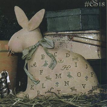 Clearance With Thy Needle CTS018 Hoppin Along Sampler