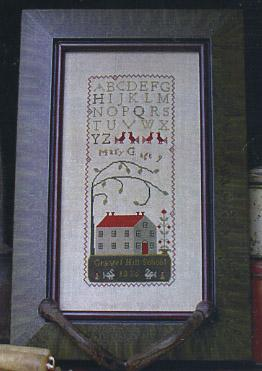 Clearance With Thy Needle CTS022 Schoolgirl Sampler