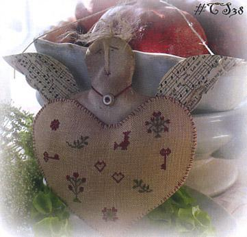 Clearance With Thy Needle CTS038 Cupids Heart