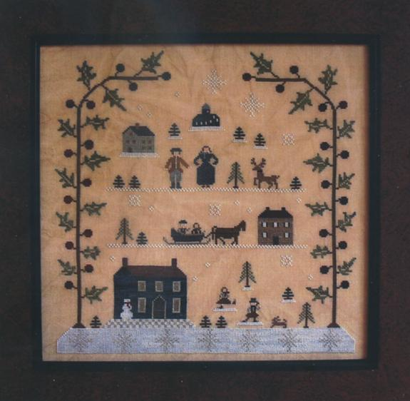 Clearance With Thy Needle CTS072 Sampler Of The Season Winter