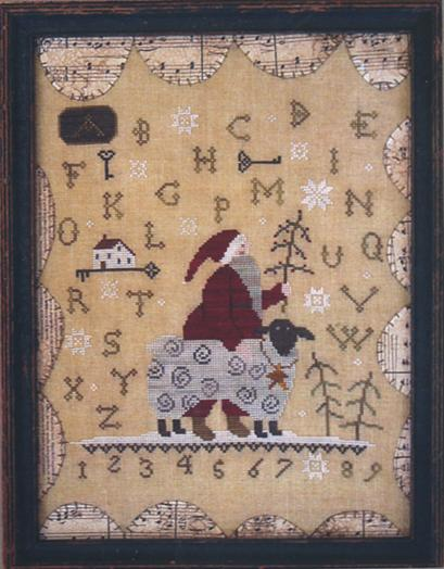 Clearance With Thy Needle CTS073 Merry Christmas To Ewe